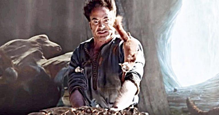 Est-ce que Robert Downey Jr. est à blâmer pour cette scène infâme de Dragon Fart dans Dolittle?