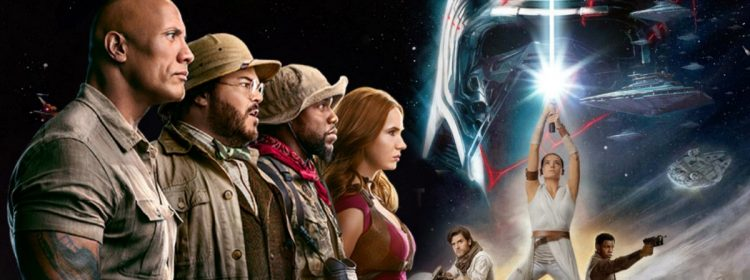 La montée de Skywalker tombe du top 10 du box-office avant Jumanji: le niveau suivant
