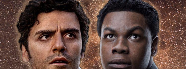 Le duo Star Wars laisse tomber une mystérieuse allumette, Poe et Finn passent-ils au niveau supérieur?