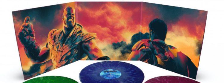 Ensemble de boîtes de musique de fin de jeu sur vinyle Infinity Stone vient de Mondo