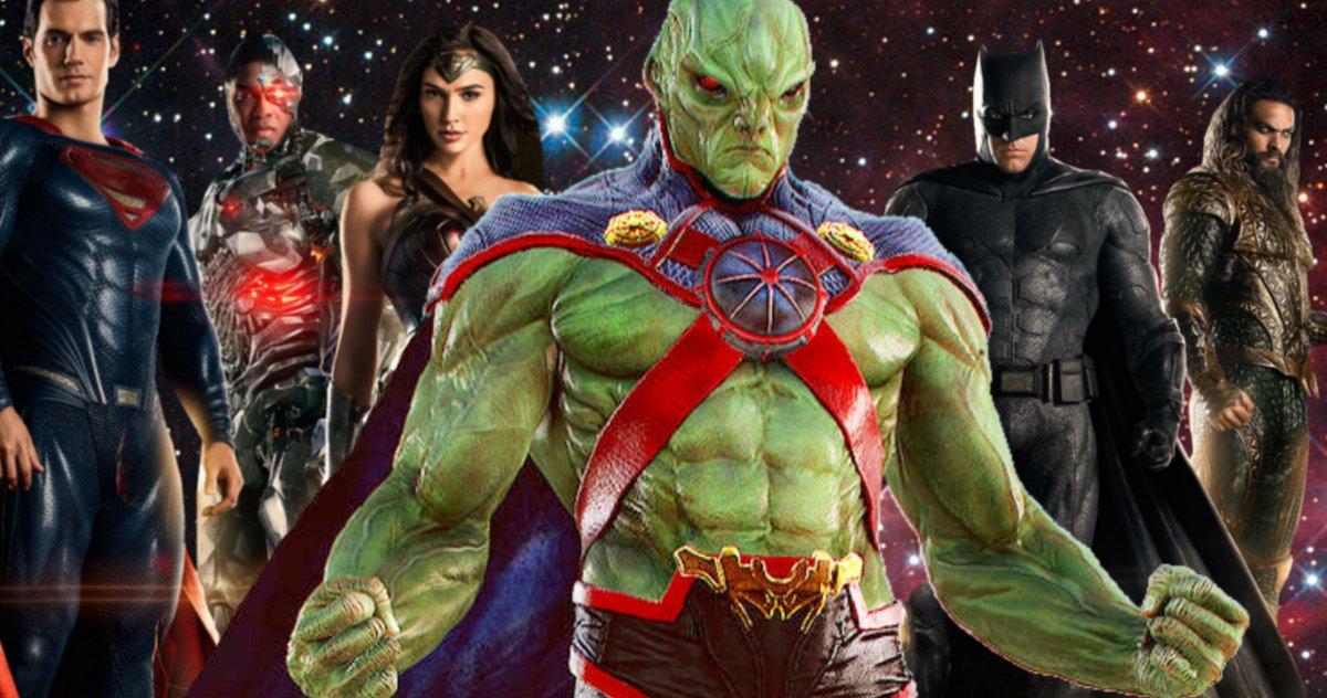 Martian Manhunter taquiné dans les dernières images #ReleaseTheSnyderCut de Justice League