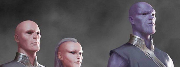 Young Thanos apparaîtra-t-il dans les éternels de Marvel?