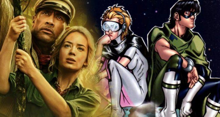 The Rock et Emily Blunt apportent leur chaîne et boule de cinéma de super-héros à Netflix