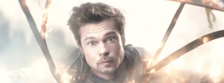 Ryan Reynolds Trolls Brad Pitt avec Deadpool 2 Throwback Photo