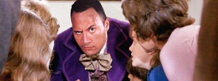 The Rock en tant que Willy Wonka? C'est presque arrivé