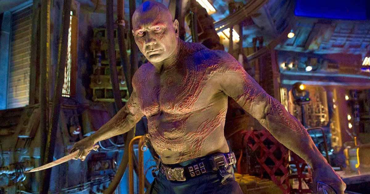 James Gunn révèle un nouveau fait intéressant sur le costume Drax de Dave Bautista