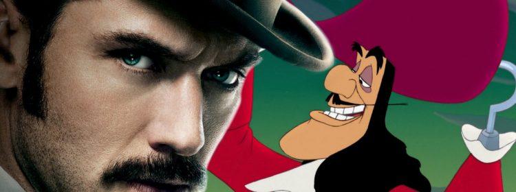 Jude Law est Captain Hook dans le remake de Peter Pan de Disney