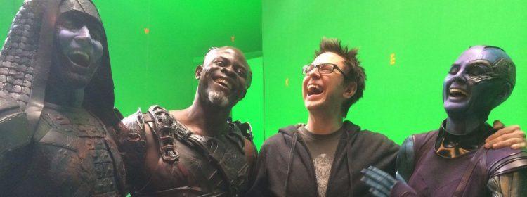 James Gunn célèbre le 6e anniversaire des Gardiens de la Galaxie avec des photos de la série Throwback