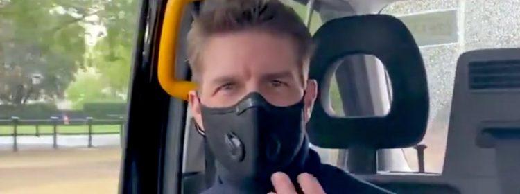 Tom Cruise publie une vidéo de lui-même allant voir Tenet dans un théâtre à Londres