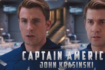 John Krasinski devient Captain America dans Avengers Deepfake Video