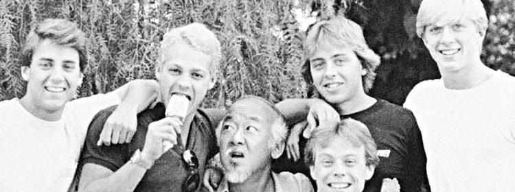 Karate Kid 5 Pitch de Pat Morita semble assez fou