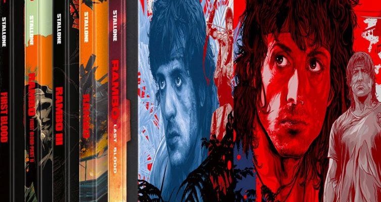 Massive Rambo Franchise 4K Steelbook Collection à venir en octobre de Lionsgate