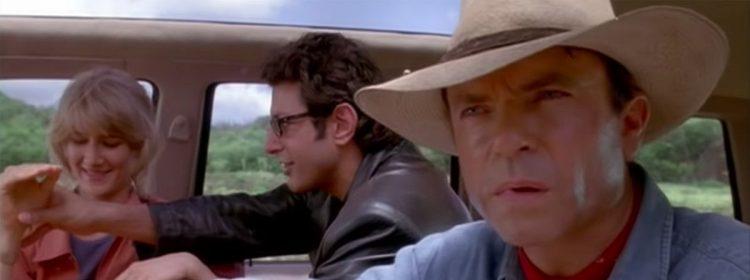 Regardez Jeff Goldblum et Sam Neill reconstituer une scène de Jurassic Park de l'ensemble de Dominion