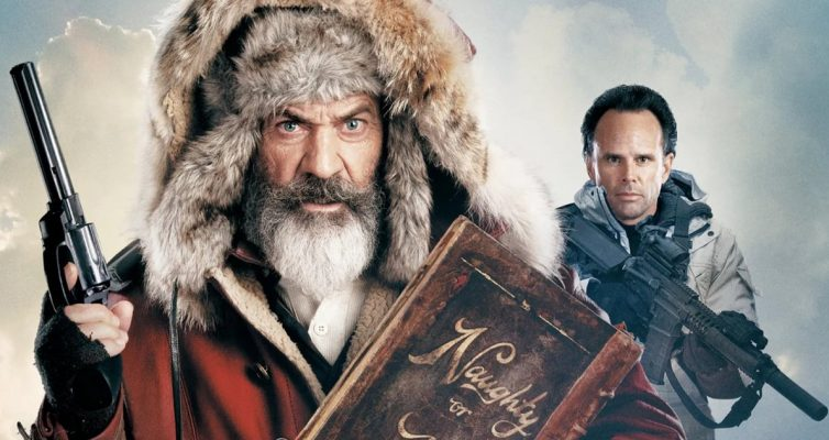 Mel Gibson parle de Fatman et de sa course sauvage en tant que père Noël dans des interviews exclusives avec des acteurs
