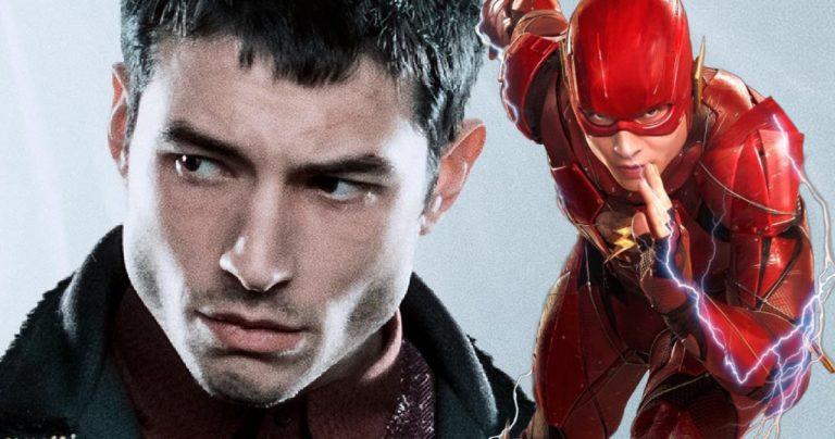 La Flash Star Ezra Miller a tourné une nouvelle scène de la Ligue de la justice sur l'ensemble Fantastic Beasts 3