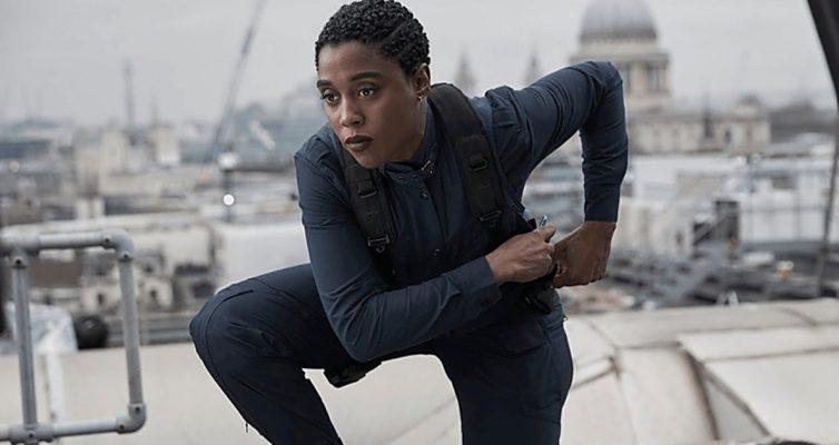 Big 007 révèle que le harcèlement raciste ne dit pas qu'il est temps de mourir Star Lashana Lynch