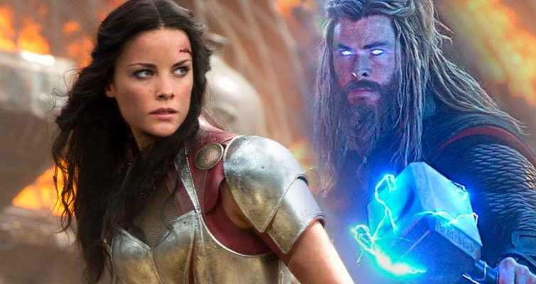 Love and Thunder en tant que Lady Sif à Sydney