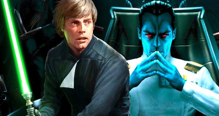Star Wars prépare-t-il Thrawn pour un héritier de l'adaptation en direct de l'Empire?
