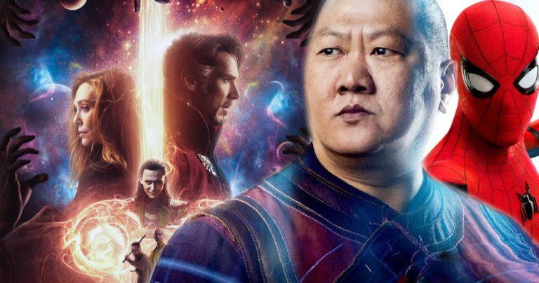 Benedict Wong taquine Spider-Wong dans le premier ensemble de Doctor Strange 2
