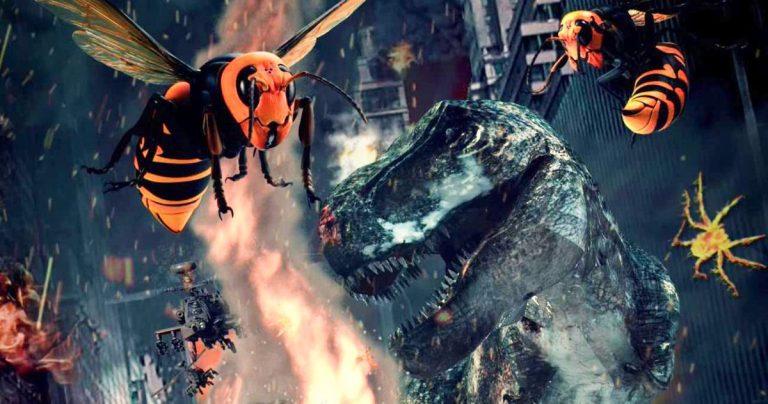 Ebola Rex contre Ebola Rex.  La bande-annonce de Murder Hornets est ici, oubliez tout sur Godzilla Vs.  Kong