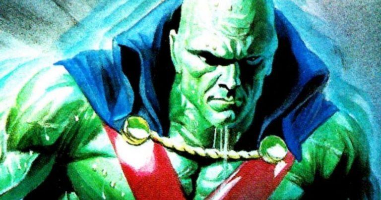Martian Manhunter a un avertissement dans une nouvelle photo de la Justice League de Zack Snyder