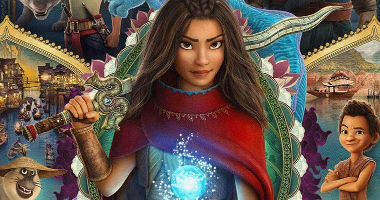 L'affiche de Raya et le dernier dragon arrive, les billets et la pré-commande Disney + sont maintenant disponibles