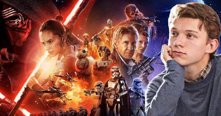 Tom Holland auditionné pour un rôle de Star Wars qui aurait changé le réveil de la force