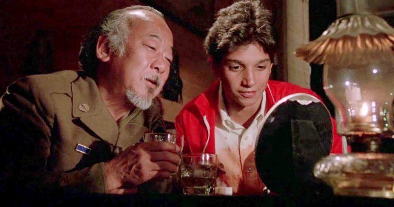 Un écrivain de Karate Kid dit que Studio voulait couper la scène la plus importante de M. Miyagi