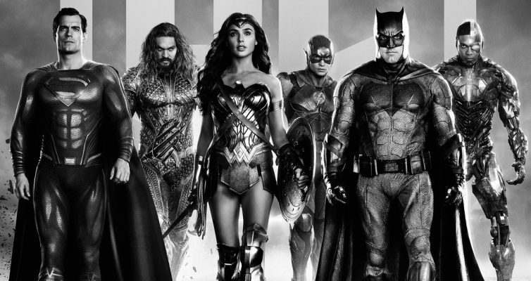 Les affiches Justice League de Zack Snyder rassemblent l'équipe ultime de super-héros DC en noir et blanc