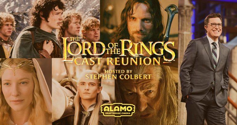 Alamo Drafthouse annonce la réunion du seigneur des anneaux pour soutenir les cinémas locaux