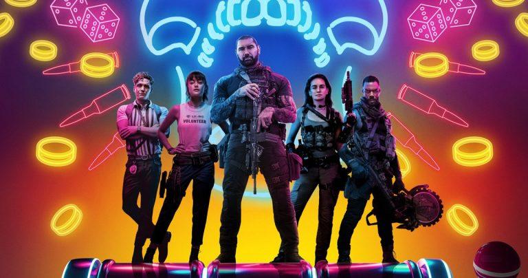 L'affiche de l'Armée des morts de Zack Snyder parie gros sur Dave Bautista et ses soldats Zombie-Heist