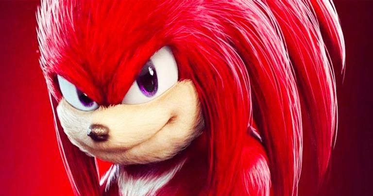 Knuckles révélés sur l'ensemble Sonic the Hedgehog 2