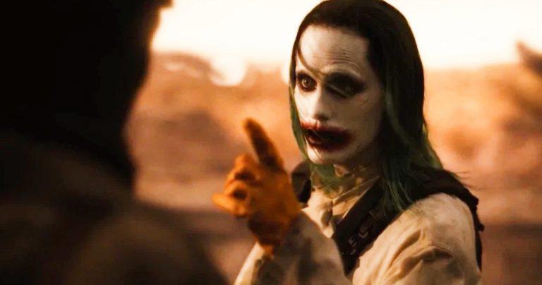 La ligne `` Nous vivons dans une société '' de Joker restaurée dans la scène supprimée étendue de Snyder Cut