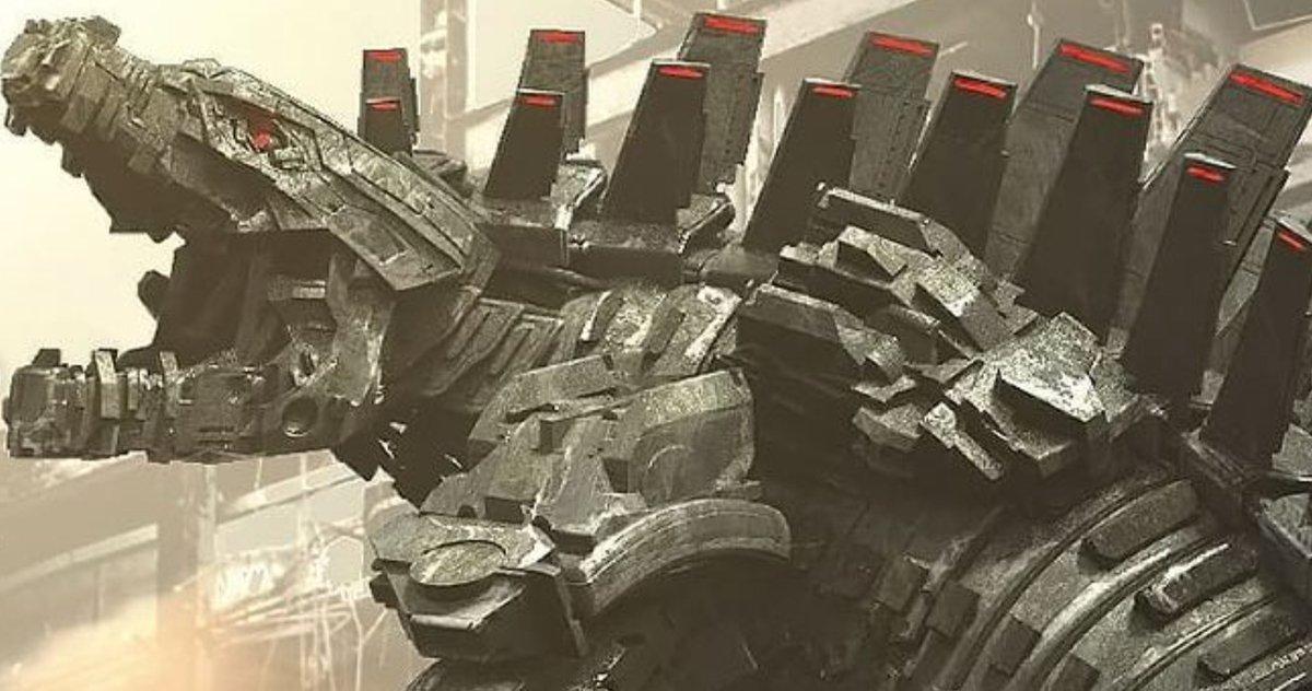 L'art conceptuel de MechaGodzilla révèle un regard détaillé sur Godzilla Vs.  Kong Villain