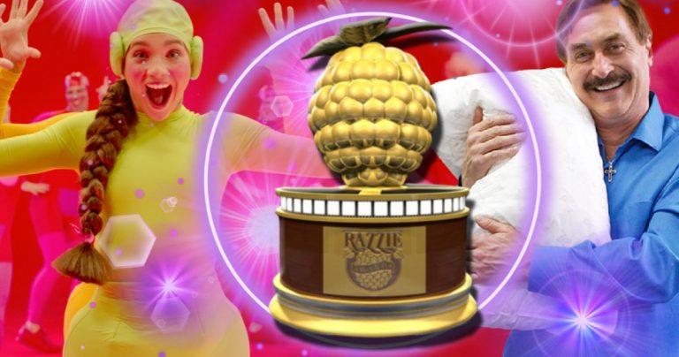 Les lauréats des Razzie Awards 2021 incluent Sia's Music, My Pillow Guy et Rudy Giuliani