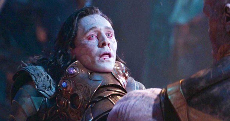 Thanos tuant Loki avait une ambiance bien différente dans les coulisses avec Tom Hiddleston et Josh Brolin