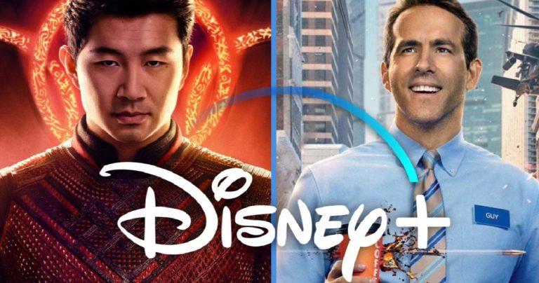 Le Shang-Chi et Free Guy de Marvel resteront dans les théâtres pendant 45 jours avant de rejoindre Disney +