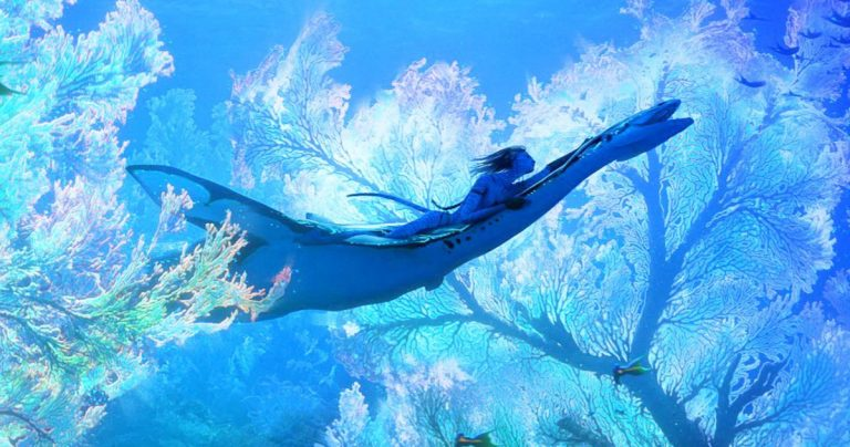 Avatar 2 Concept Art va sous l'eau pour la Journée mondiale des océans