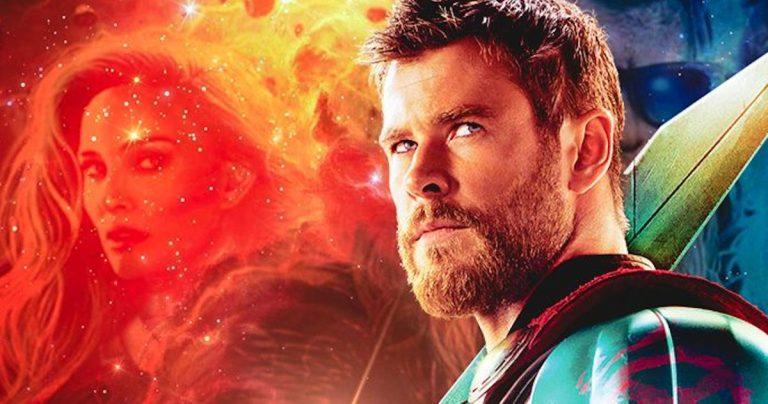 Love and Thunder Promo Art donne un nouveau look au dieu de Chris Hemsworth