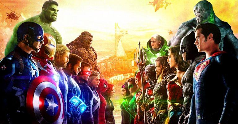 Marvel contre  Le film DC Crossover n'est pas impossible, James Gunn a eu des discussions informelles avec les deux studios