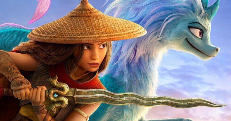 Raya et le dernier dragon sont désormais diffusés gratuitement à tous les abonnés Disney +