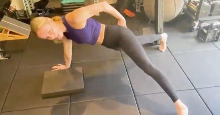 The Marvels Prep a Brie Larson impressionnant les fans avec ses pompes à un bras