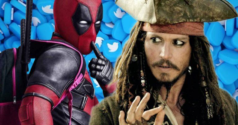 Jack Sparrow de Johnny Depp et Deadpool de Ryan Reynolds en tête d'un sondage Twitter parfaitement diffusé