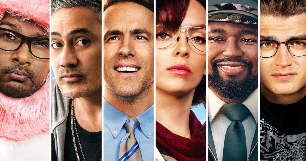 Les affiches des personnages de Free Guy présentent les amis de la ville libre de Ryan Reynolds