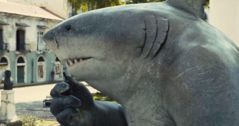 The Suicide Squad donne à King Shark sa propre bande-annonce pour célébrer la semaine du requin