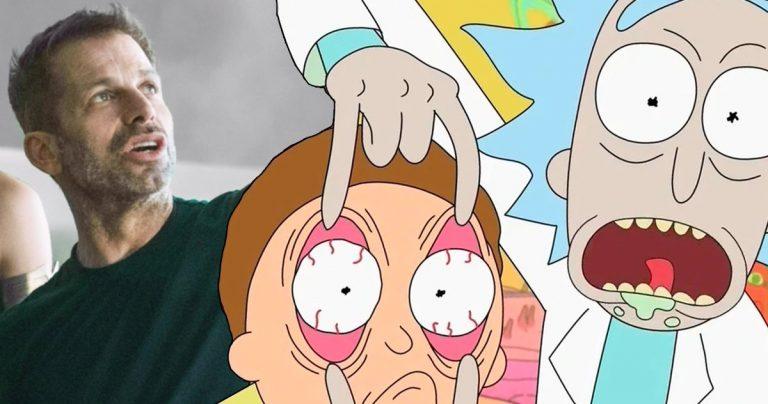 Zack Snyder dirigerait totalement un film de Rick et Morty