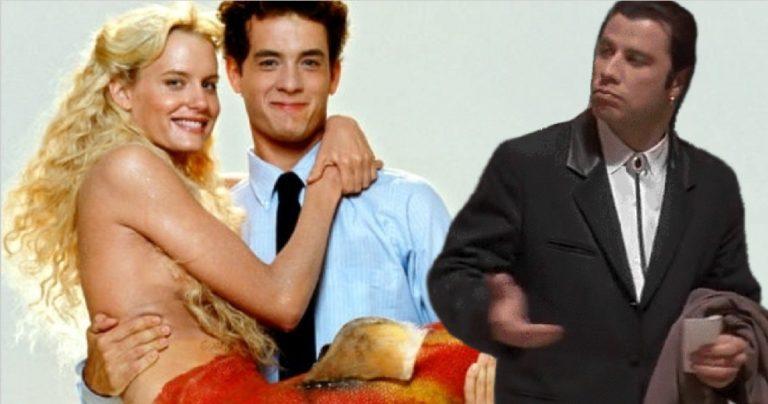 John Travolta dit que Splash a été écrit pour lui, plaisante en disant qu'il a fait de Tom Hanks une grande star