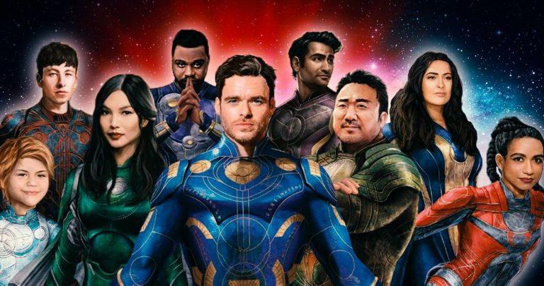 Le guide des personnages d'Eternals révèle plus sur les super-héros cosmiques de Marvel