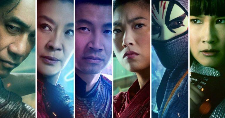 Les affiches des personnages de Shang-Chi amènent une nouvelle légion de combattants dans le MCU