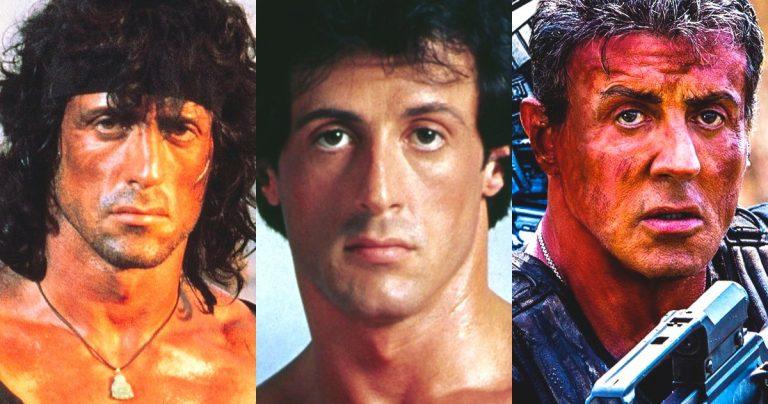 Sylvester Stallone a joué dans les films n ° 1 pendant six décennies consécutives